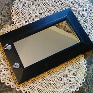 A Dublin Pub Mirror with 2 Used for